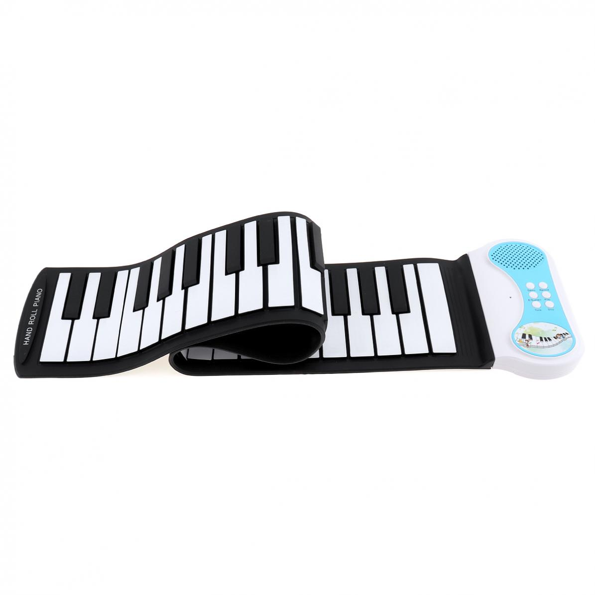 49 Keys Flexible Hand Roll Up Piano Electronic Keyboard Organ Enlightenment Music Gift For Children Students