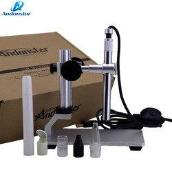 Microscope numérique Andonstar 500x8 LED caméra vidéo Microscope USB avec logiciel de mesure WIFI en option
