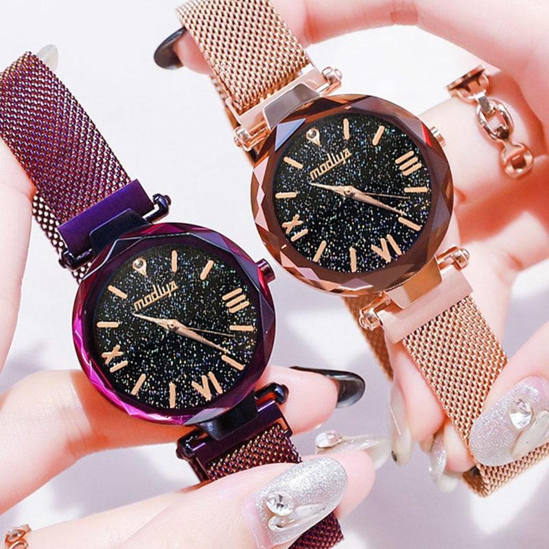 Women-Watch-Top-Luxury-Brand-Dress-Watch-For-Magnet-Starry-Sky-Blue-Mesh-Steel-Lady-Wrist (3)