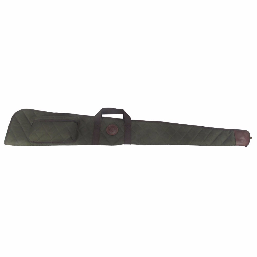 ФОТО Tourbon Tactical Shotgun Slip Nylon Bag Soft Padded Carrying Gun Case for Hunting 138cm with Ammo Cartridges Pouches