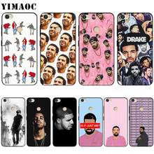 Yimacc Drake raper silikonowa obudowa do xiaomi Redmi Note 4 4x 4a 5 5a 6 8 Pro Prime Plus(China)