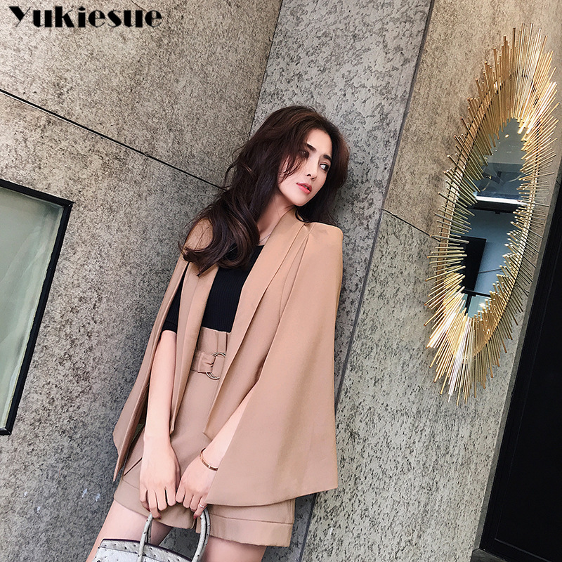tracksuit for women Blazer Hot Shorts 2 two piece set batwing women s suit OL offical