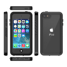 For Apple iPod Touch 7 Case IP68 Waterproof 360 Degree Protection Dropproof Shockproof Diving Shell for iPod 5 6 Case Underwater(China)