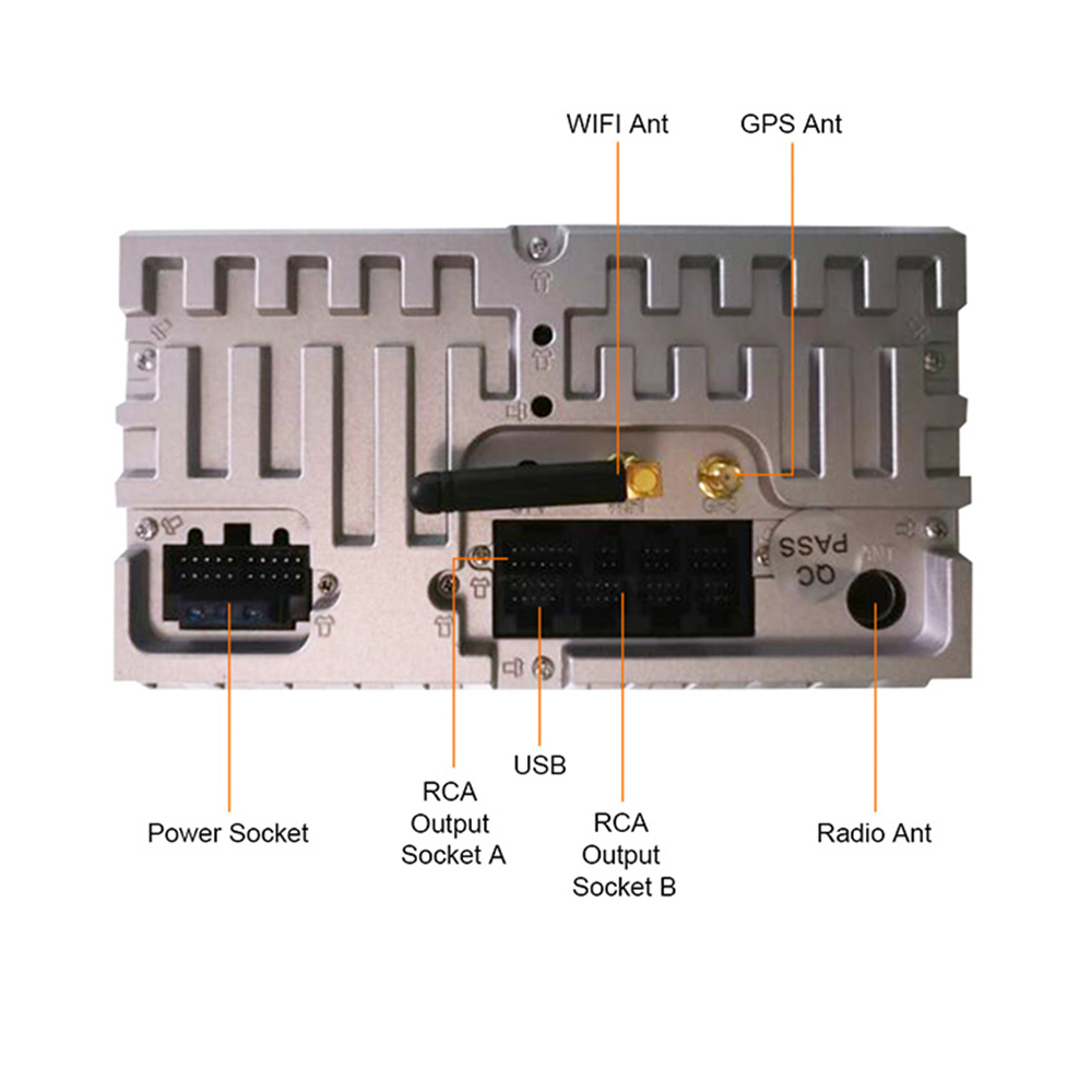Eunavi 2 Din 4G 64G Android 9 Car DVD Radio Stereo Player For Opel Astra H G J Vectra Antara Zafira Corsa Vivaro Meriva Veda GPS