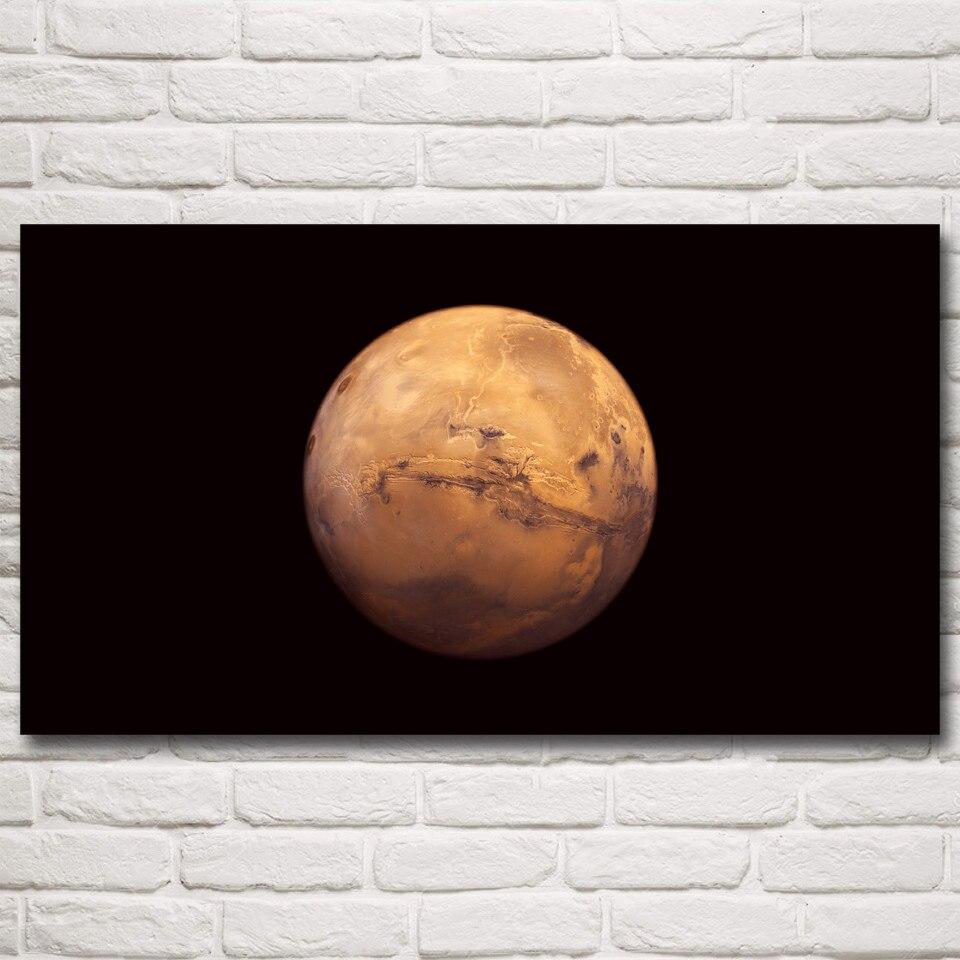 Mars Planet Raum Universum Art Silk Poster Home Wand-dekor Bilder ...