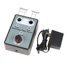 Dual Hole Car Spark Plug Tester Ignition Plug Analyzer Diagn