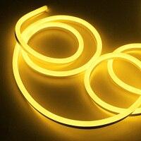 Sumxi 30 м Светодиодные ленты свет SMD 2835 Водонепроницаемый 120 светодио дный s/m мягкие светодио дный неон Веревка полоски 220 В ЕС Plug Рождественски