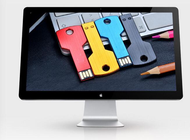 wholesale colours 2/4/8/16/32/ USB Flash Drive simple style memory stick/card/gift creative Pendrive S44 print LOGO
