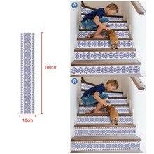 3D Simulation escalier autocollants étanche Stickers muraux décoration bricolage chambre décoration vinilos decorativos para paredes nouveau