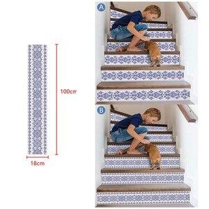 Image 1 - 3D sztuczna na schody naklejki wodoodporna ściana naklejki dekoracje dla domu DIY dekoracja pokoju vinilos decorativos para paredes nowy