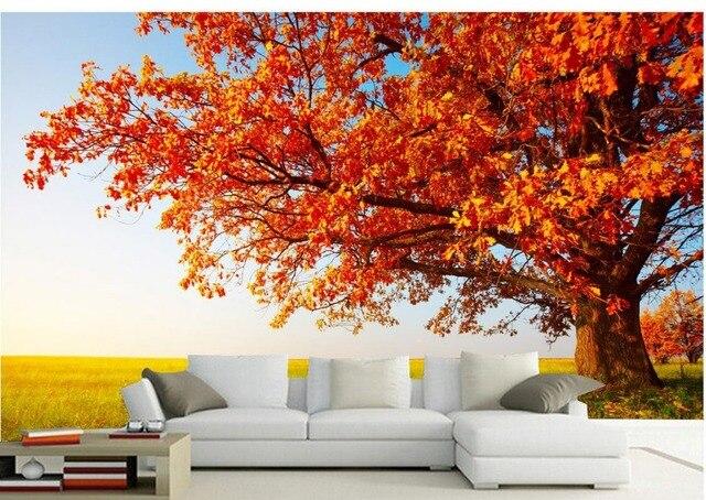 Sfondi desktop 3d stereoscopico autunno sole albero photo for Autunno sfondi desktop
