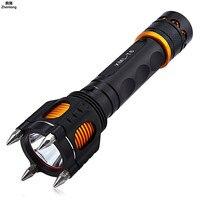 Led Flashlight Car Charging CREE T6 XML 2000LM Self defense Highlight Charging Flashlamp 18650 Torch for Camping Night Fishing