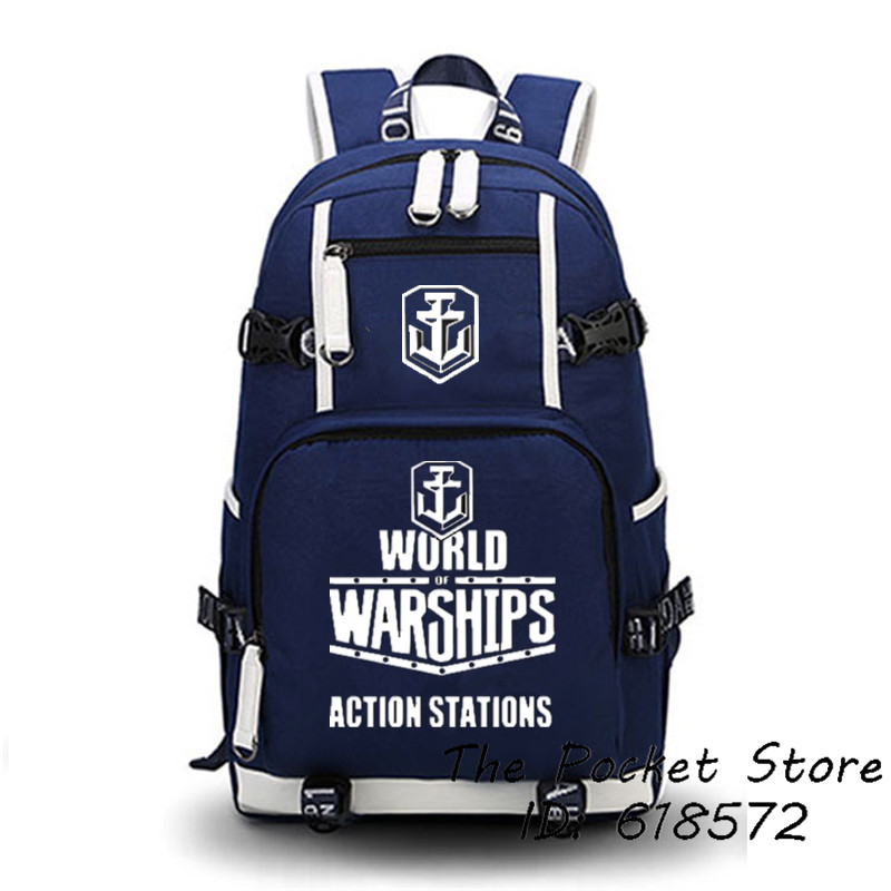 2017 New World Of Tanks Backpack Printing Canvas School Bags Unisex Travel Bags Large Capacity Laptop Backpack Mochila Feminina