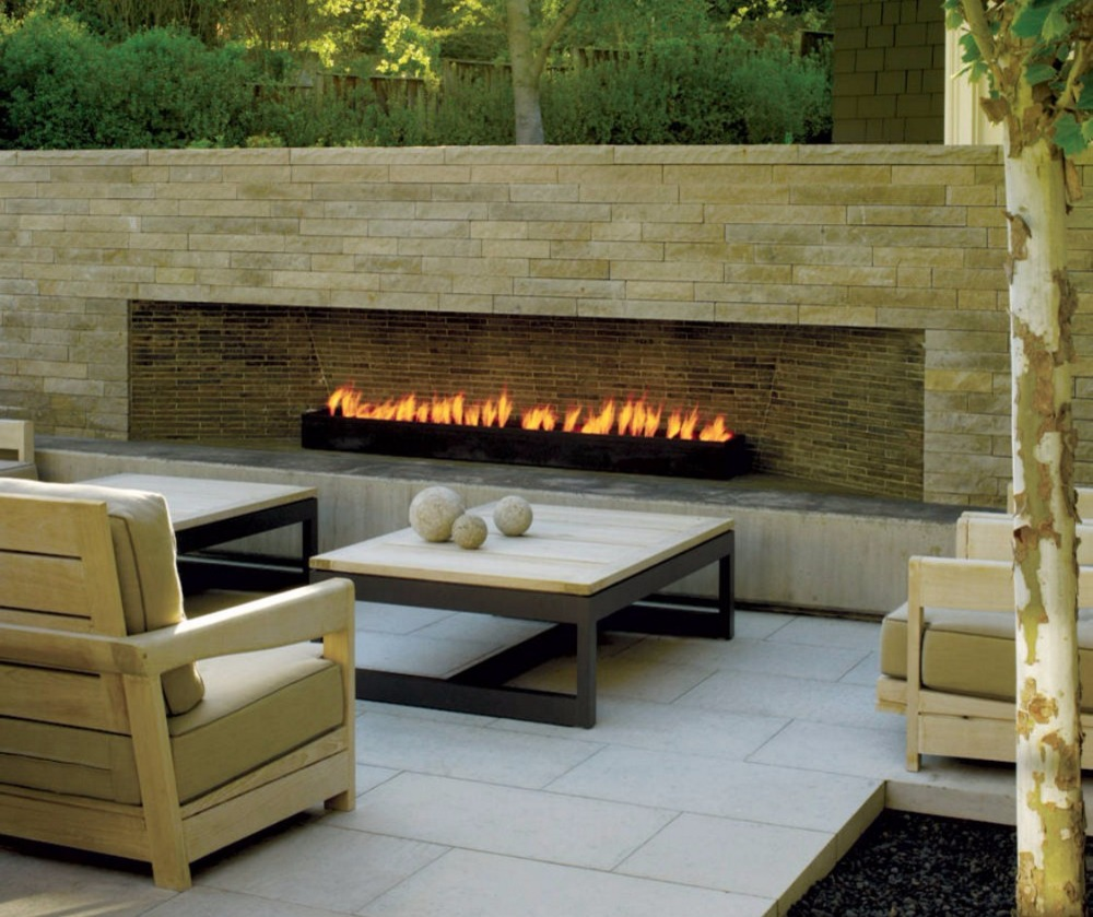 On Sale  62 Inch Home Fireplaces With Ethanol Burner Outside Fireplace