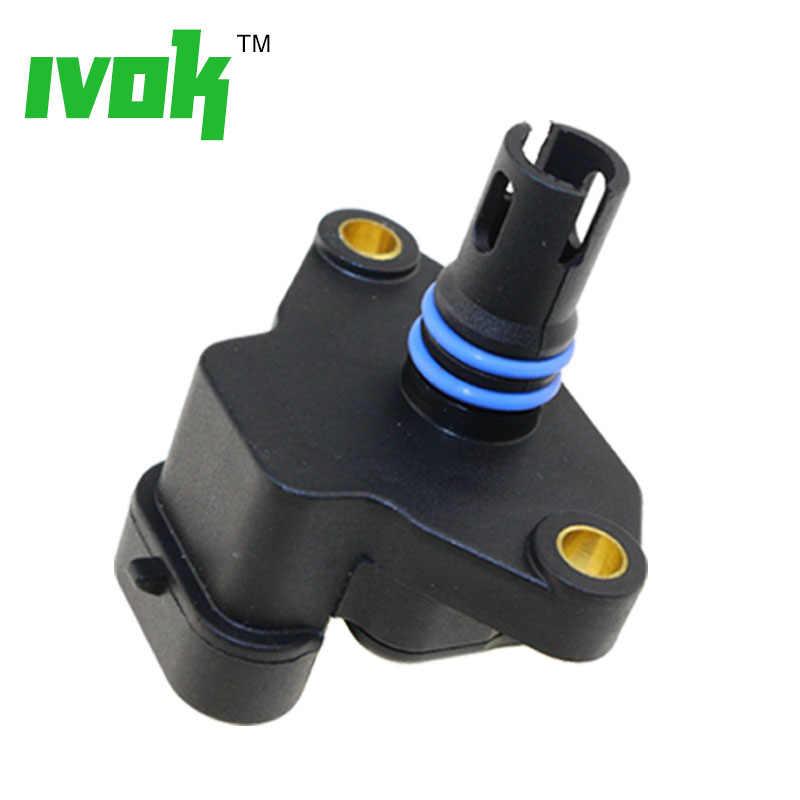 100% di Prova MAPPA Dell'aria di Aspirazione Sensore di Pressione di Sovralimentazione Assoluta Nel Collettore Drucksensor Per Land Rover MG MINI MHK100820 MHK100820L