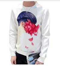 2016 schwarzweiss-streifen patchwork sweatshirt hoodie männer und männer casual floral gedruckt hoodies 5XL
