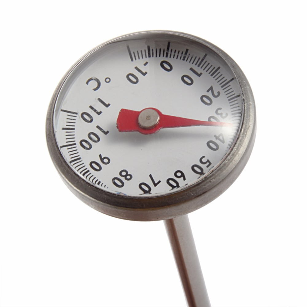 1pc Stainless Steel -10~110 Celsius Degree Kitchen Cooking Quick Response Instant Read Craft Thermometer Meter Measurement Tools