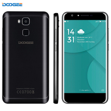 4G DOOGEE Y6 2 GB + 16 GB Fingerprint Identification 5,5 zoll Android 6.0 MTK6750 64-Bit octa-core Dual SIM A-GPS 13.0MP 3200 mAh