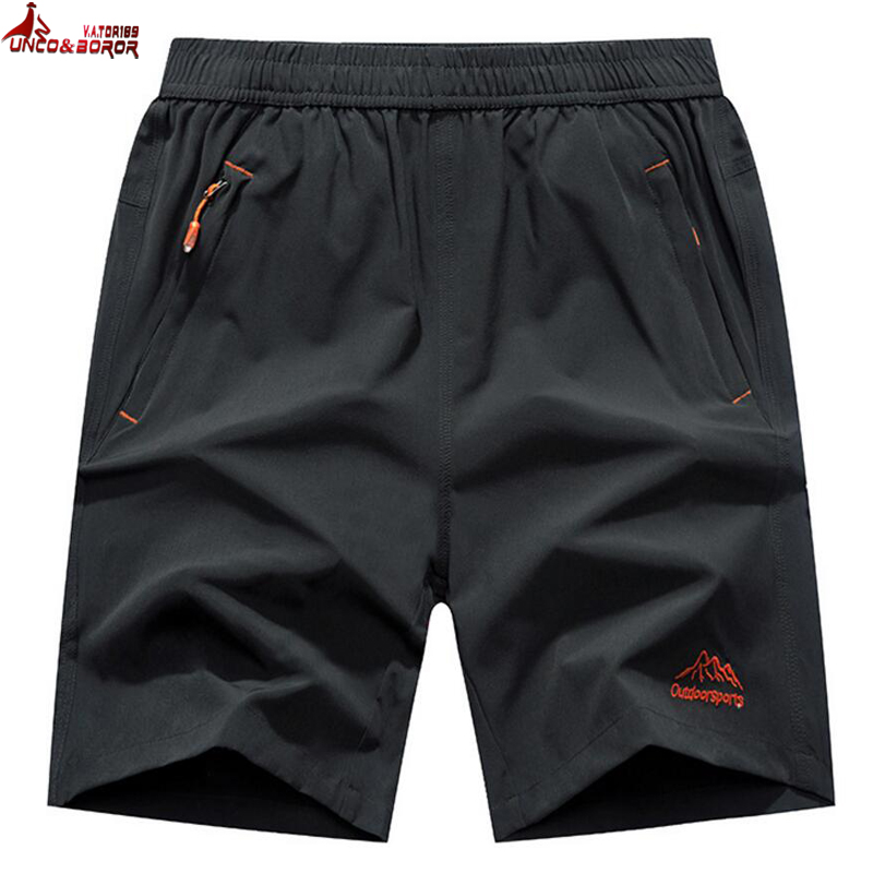 Plus Size 6XL,7XL,8XL,9XL Casual Running Shorts Men Elastic Waist Summer Breathable Quick-drying Gym Joggers Board Shorts Male