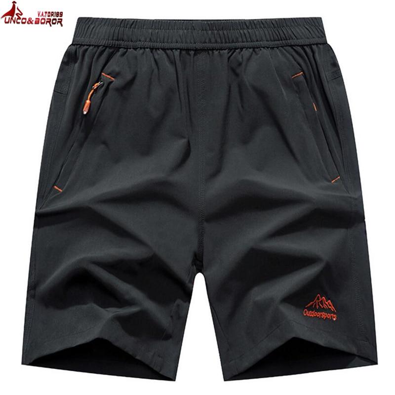 Plus Size 6XL,7XL,8XL,9XL Casual Running Shorts Men Elastic Waist Summer Breathable Quick-drying Gym Joggers Board Shorts Male