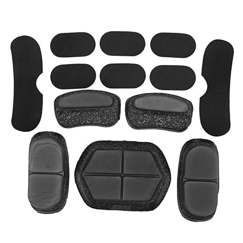 *Tactical Helmet Pads13Pcs/set Helmet Foam Pad Airsoft Paintball Fast Helmet DIY Protective Cushion Set Motorcycle Helmet Pad*