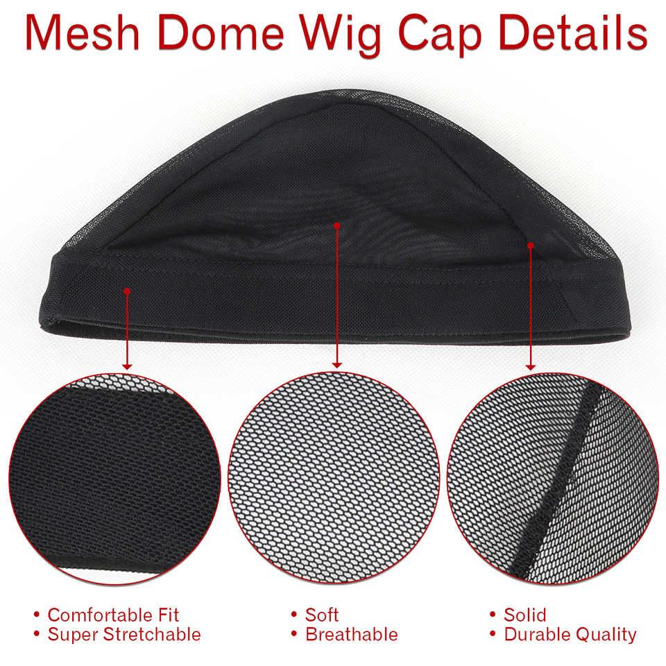 В продаже черный купол основа для афрокосичек проще шиньон для волос растягивающийся ткацкий колпачок эластичная нейлоновая сетка оптовая продажа hairnet
