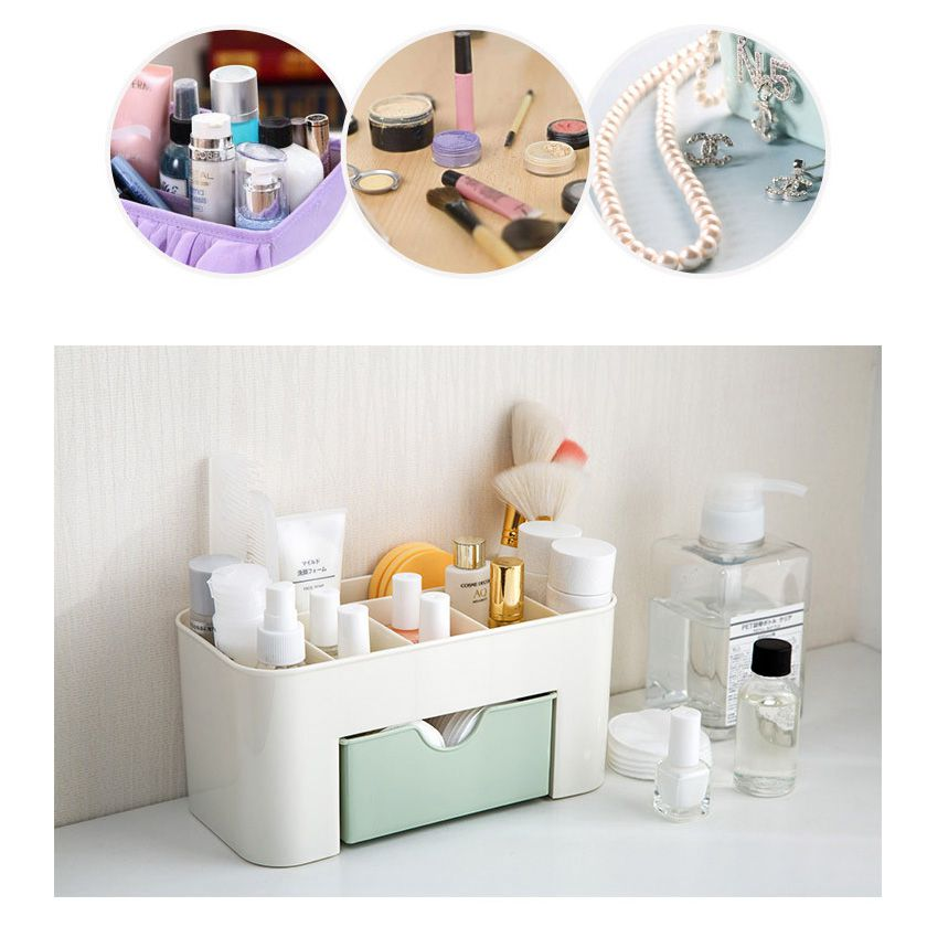 NOCM-Mini Desktop Makeup Storage Box Cosmetic case Lipstick Cases Sundries Case Small Objects Box Wholesale Desktop Organizer
