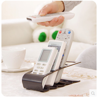 Television Air-Conditioner Remote Controller Storage Holders Racks Fan Distance Control Supporter TV Controllers Organizer
