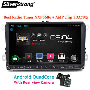SilverStrong Android9.1 9inch Car DVD GPS For Volkswagen Passat B6 B7 Radio Stereo Radio GPS without DVD 68S - DISCOUNT ITEM  26% OFF All Category