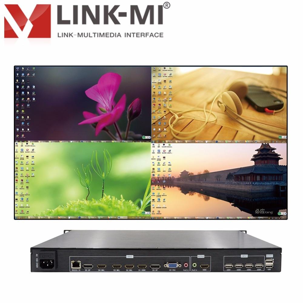 LINK-MI SH41 Quarsystem Nəzarət Proqramı 1920x1080p HDMI CVBS VGA - Evdə audio və video - Fotoqrafiya 2