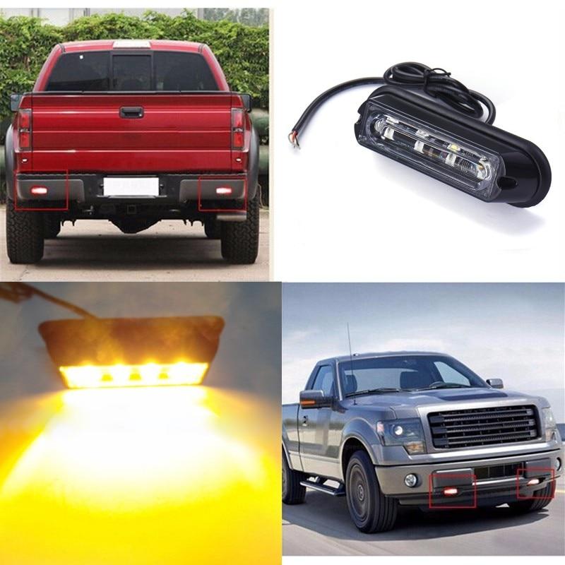 Aliexpress.com : Buy 12v/24v 4 Led Car Truck DRL Day Flash