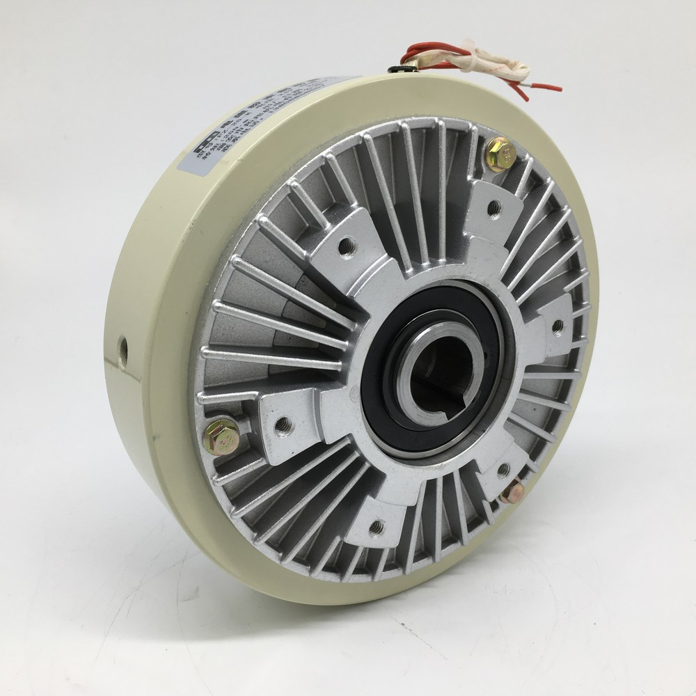 Magnetic Powder Brake Hollow Shaft 25Nm 2.5kg DC 24V 1000RPM Unwinding For Tension Control Continuous Sliding Simulated LoadMagnetic Powder Brake Hollow Shaft 25Nm 2.5kg DC 24V 1000RPM Unwinding For Tension Control Continuous Sliding Simulated Load