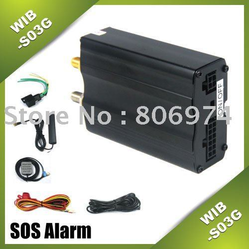 GSM GPS tracker via SMS Real-time tracking GSM/GPS vehicle car tracking GPS vehicle tracking S03GS