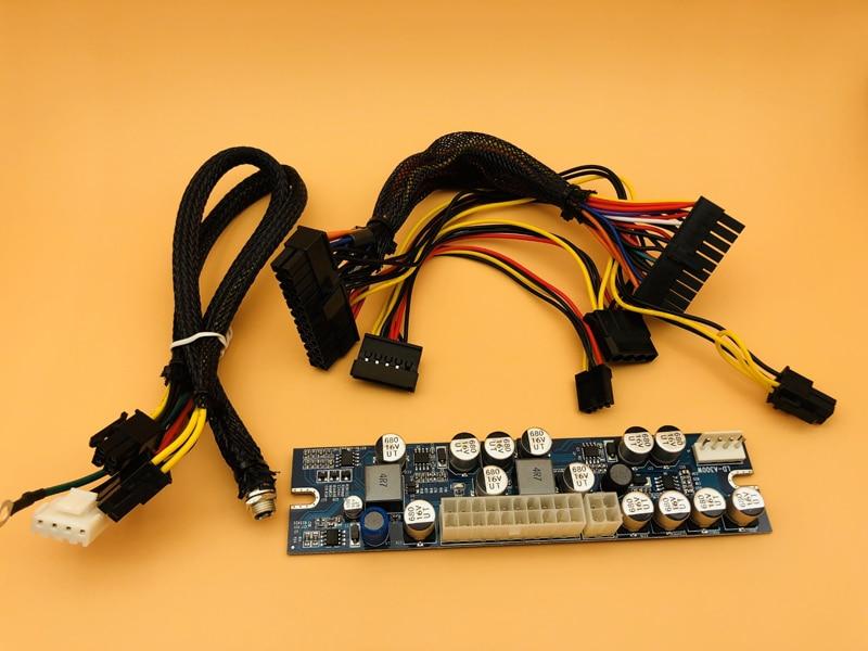 12V DC Input 300W Output Mini ITX Pico PSU DC ATX PC Switch Realan DC Power Supply For Computer Server