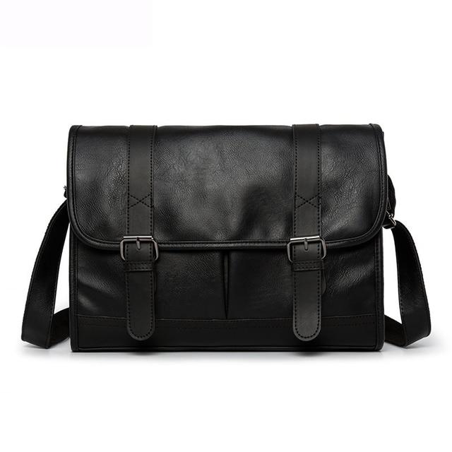 New Luxury Brand High Quality Men Bags Vintage Crossbody Bags Business Messenger Bag Leather For Men Casual Shoulder Bag Bolsa