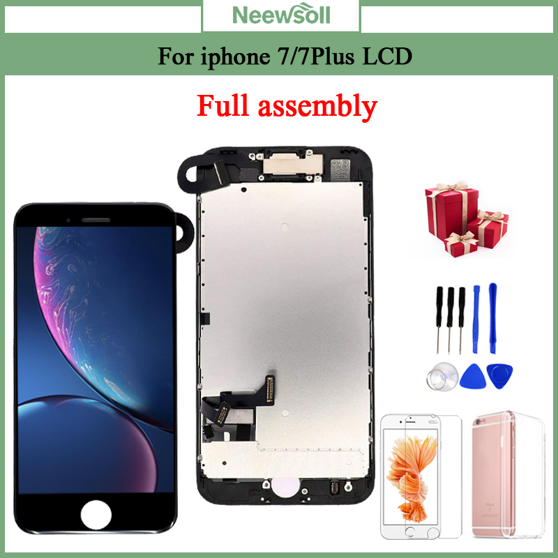 For iPhone 7 7 Plus LCD Full Assembly Complete AAA LCD With 3D Touch Screen Replacement Innrech Market.com