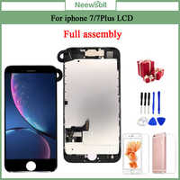 For iPhone 7/7 Plus LCD Full Assembly Complete AAA+ LCD With 3D Touch Screen Replacement Display for iphone 7/7Plus LCD Camera