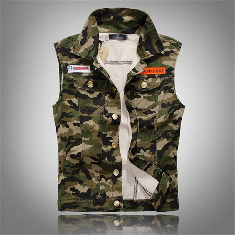 Compare Prices on Sleeveless Jean Jacket for Men- Online Shopping ...