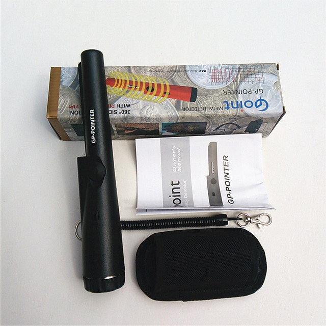 Handheld Metal Detector Dual Use PinPointer GP-POINTER Professional Detectors Super Scaner Security Wand Free Shipping
