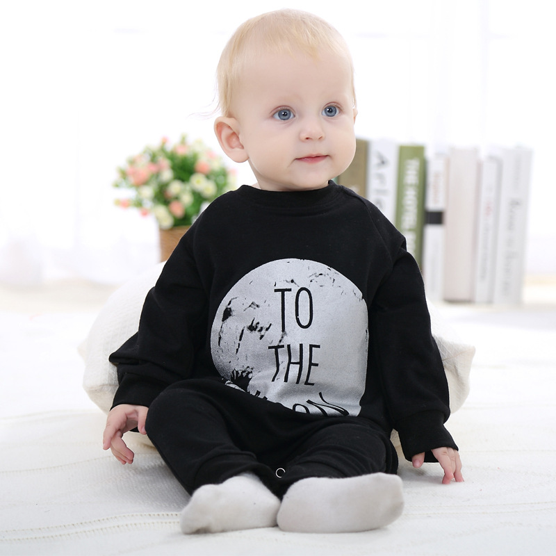 Autumn Baby Rompers Newborn Clothing Cotton Long Sleeve Jumpsuits Boys Girls Outerwear Baby Pajamas Infant Clothes Costume L426 fujicables 1 rca male to male connection audio cable brown 200cm