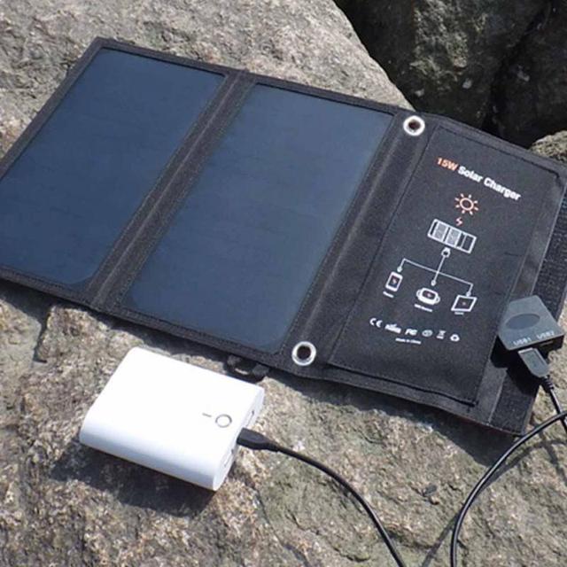 Solar Power Charging Battery  2