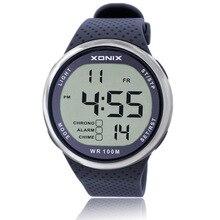 2017 Top Brand Shockproof Waterproof Diving Watch Men Sport Swim Watches 100M Water Resistant for Dive Wristwatch Swimming
