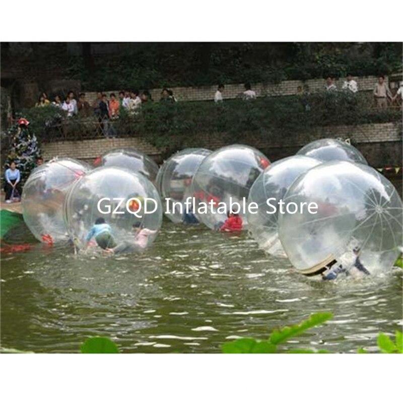 Sfera Dell'acqua Gonfiabile di Colore opzionale 1.0mm PVC Indlatable Bolla Acqua A Piedi Palla Giocattoli Per Bambini Palla Zorb - 6
