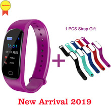купить mobile Smart Band ip67 Waterproof Color Touch Screen band Blood Pressure Heart Rate Monitor Sport Bracelet Talk Band pk Mi 2 3 4 дешево