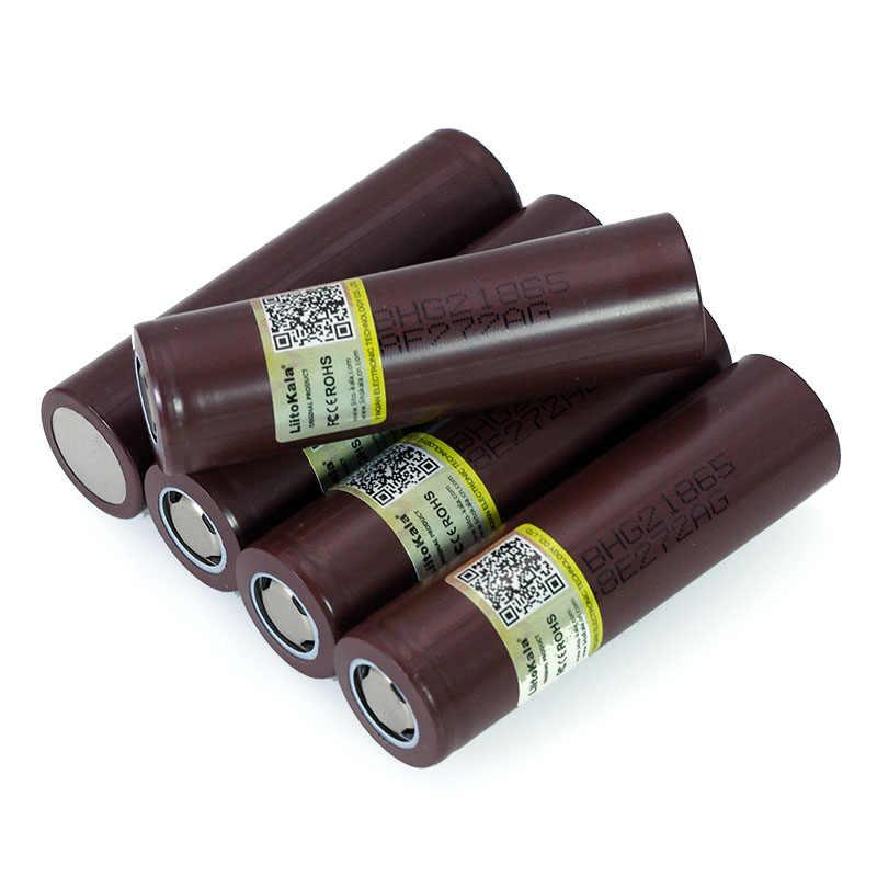 100% Новый оригинальный HG2 18650 3000mAh аккумулятор 18650HG2 3,6 V разрядка 20A для hg2 аккумуляторная батарея