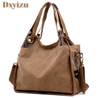 Fashion Canvas Large Capacity Women Handbag Big Shoulder Bags Casual Hobos Bolsa Female Feminina High Quality Casaul Tote