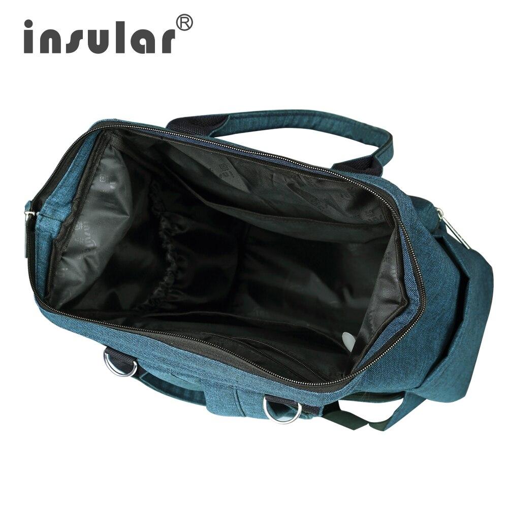 Nuevo estilo Insular Multifuncional Bolsa de pañales para bebés - Pañales y entrenamiento para ir al baño - foto 6