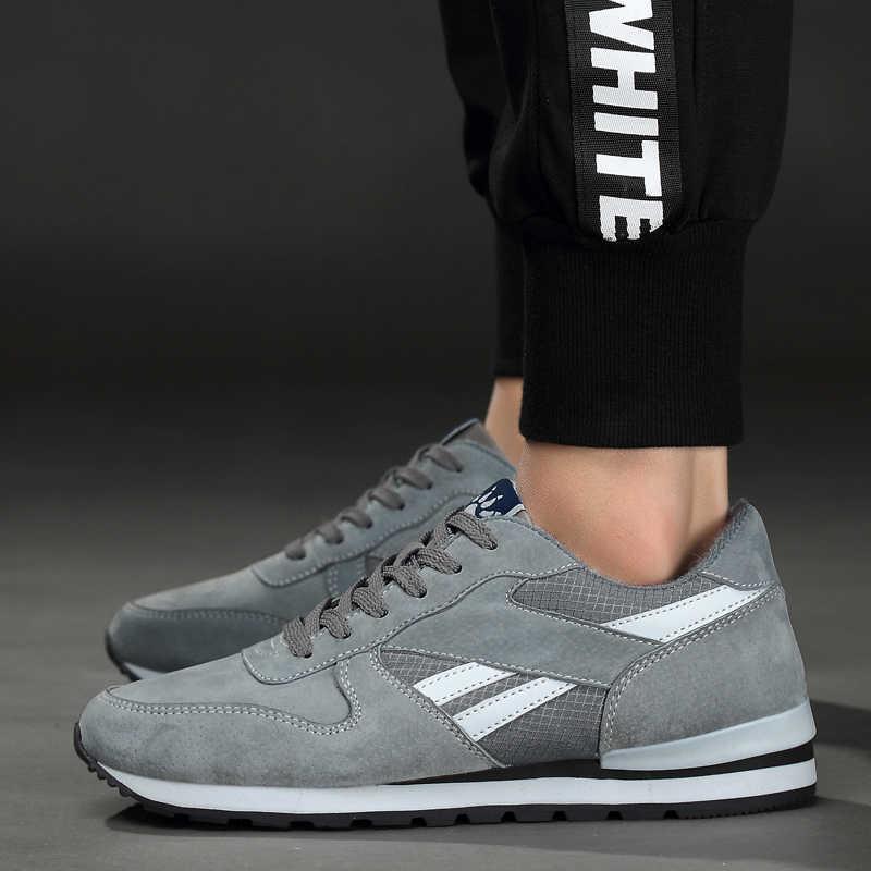 561c77eea ... Valstone zapatillas de deporte de cuero genuino transpirable hombres  zapatos casuales antideslizantes zapatos para caminar al
