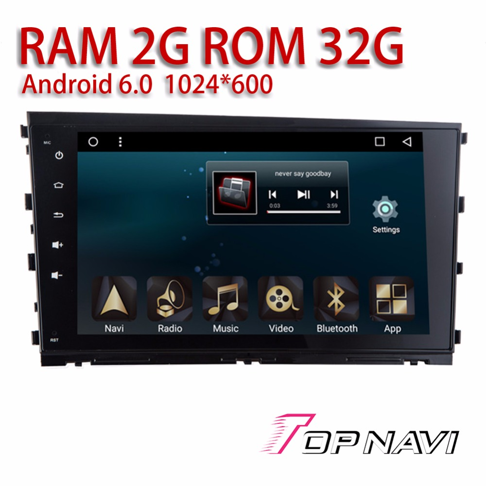 Auto Multi touch Media for Hyundai Mistra 2014 2015 2016 10.1 Topnavi Android 6.0 Car GPS Navigation Radio Tuner RAM2G ROM32