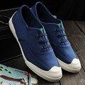 2016 Новое Прибытие Мужская Мода Повседневная Обувь Дышащая мужская Обувь Zapatillas Хомбре Повседневная Холст Мужчина Обувь Размер 39-44